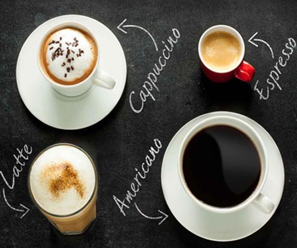 Cappuccino, Latte, Americano, Espresso ?