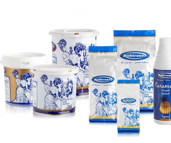 Rubicone - nguyên liệu kem Italy